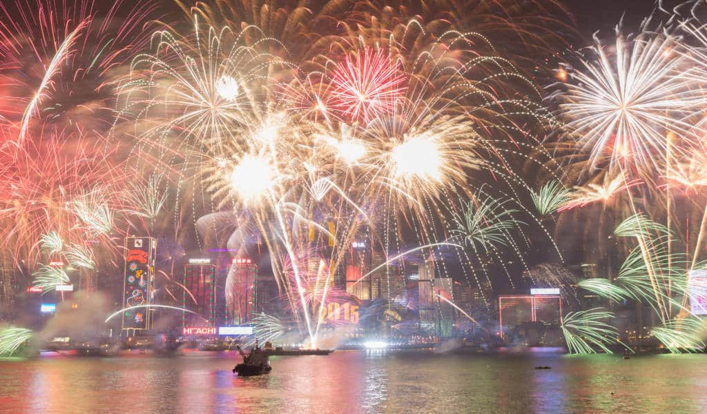 Chinese New Year Fireworks 2021 Mid Feb 2021 2021 Hong Kong Cheapo