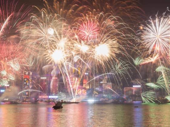 Fireworks Hong Kong