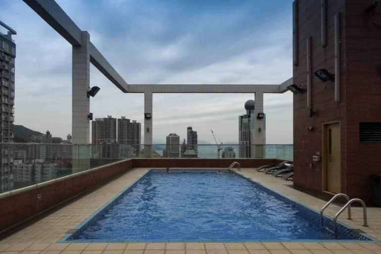 Rooftop pool Ramada