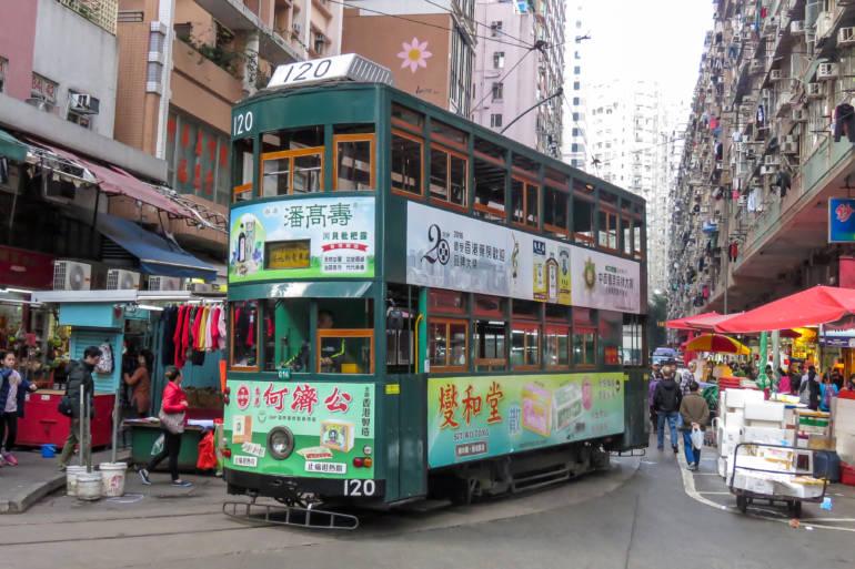 ding ding to Chun Yeung Street