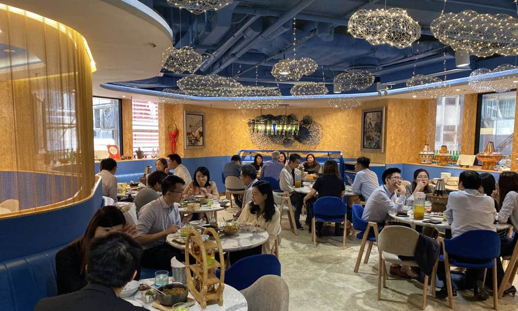 Cheap dim sum buffet at Mings Bistro Central