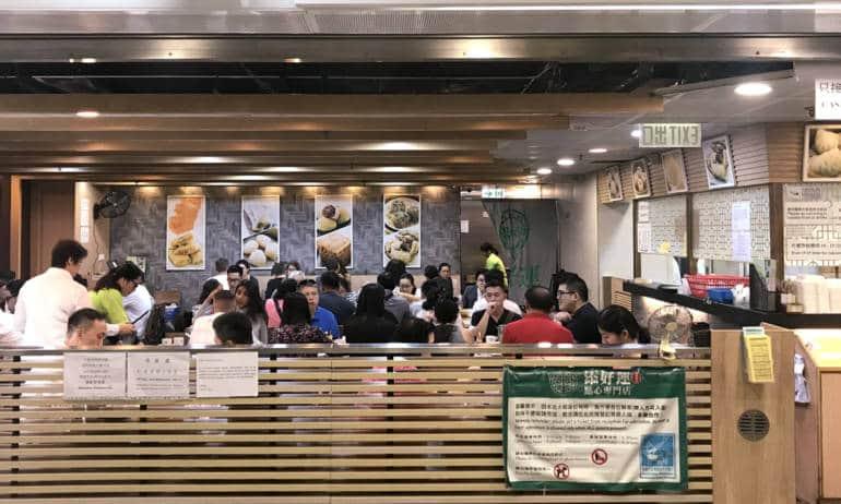 Cheap Central dim sum Tim Ho Wan