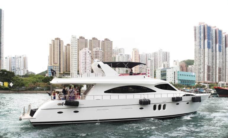 Hong Kong houseboat accommodation
