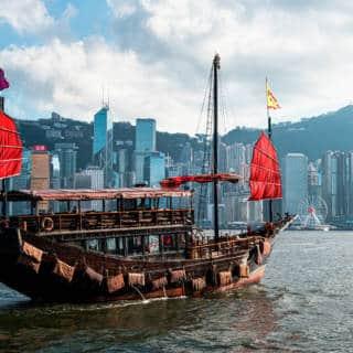 Aqua Luna: The Most Stylish Junk in Hong Kong