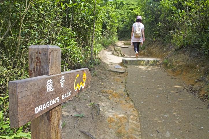 Dragon's Back hike