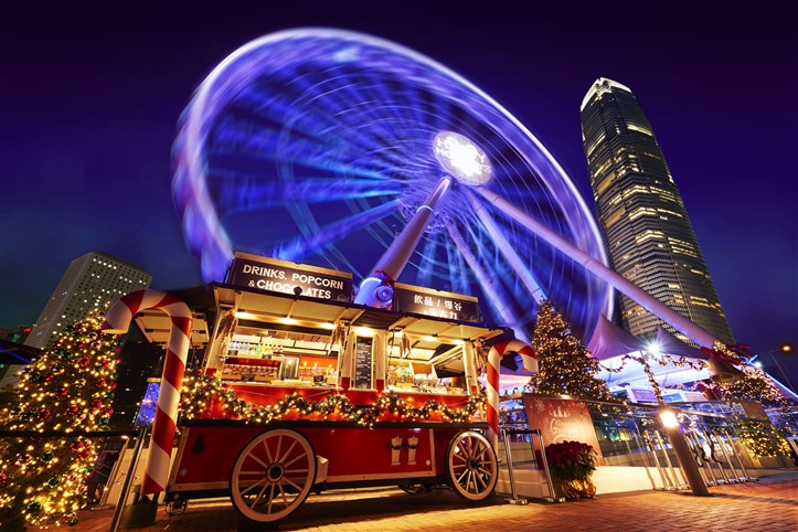 HK Christmas events