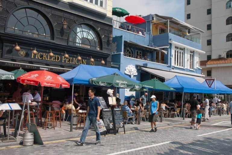 Restaurants at Stanley Market Street