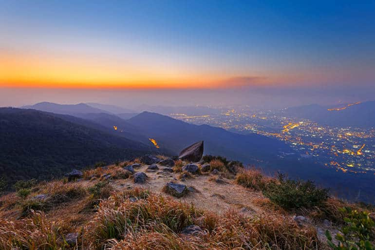 Tai Mo Shan Sunset