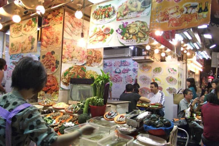 temple street food