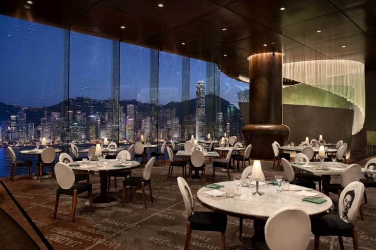 Felix Bar kowloon rooftop bars