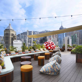 The Hottest Rooftop Bars on Hong Kong Island
