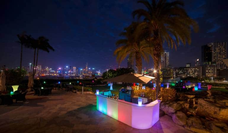 kowloon rooftop bars at Harbour Plaza Metropolis
