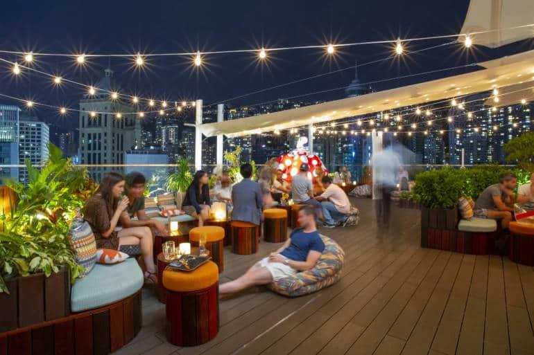 hong kong island rooftop bars