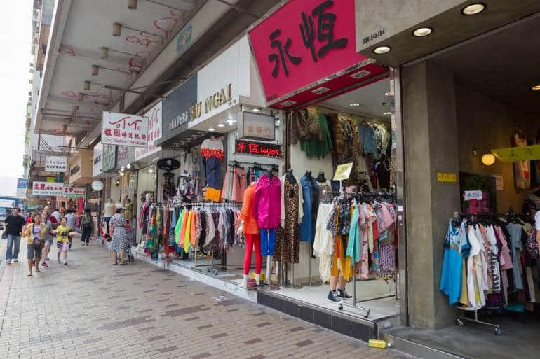 Cheung Sha Wan Road, and alternative to hong kong outlet malls