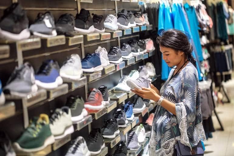 shopping for sneakers hong kong