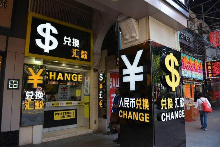 Western Union money transfer and exchange service, Tsim Sha Tsui