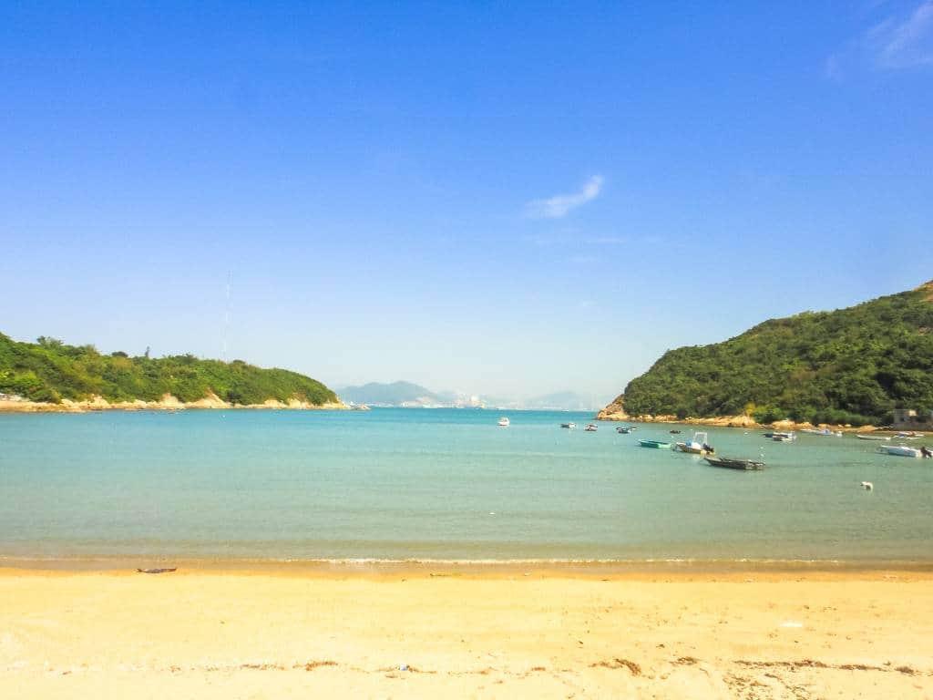 Peng Chau beach