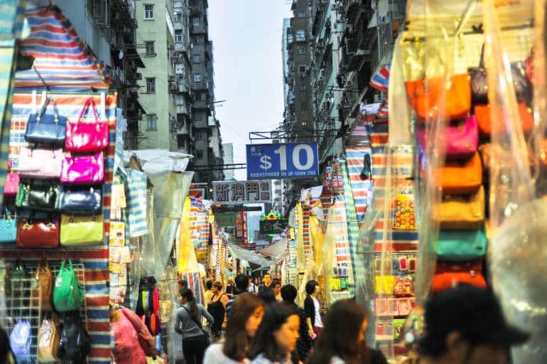 Ladies Market in Mong Kok