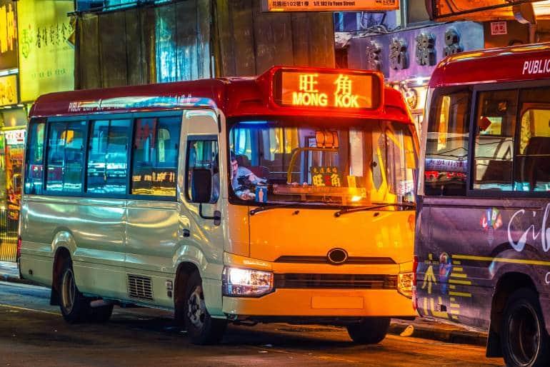 public transport in Hong Kong