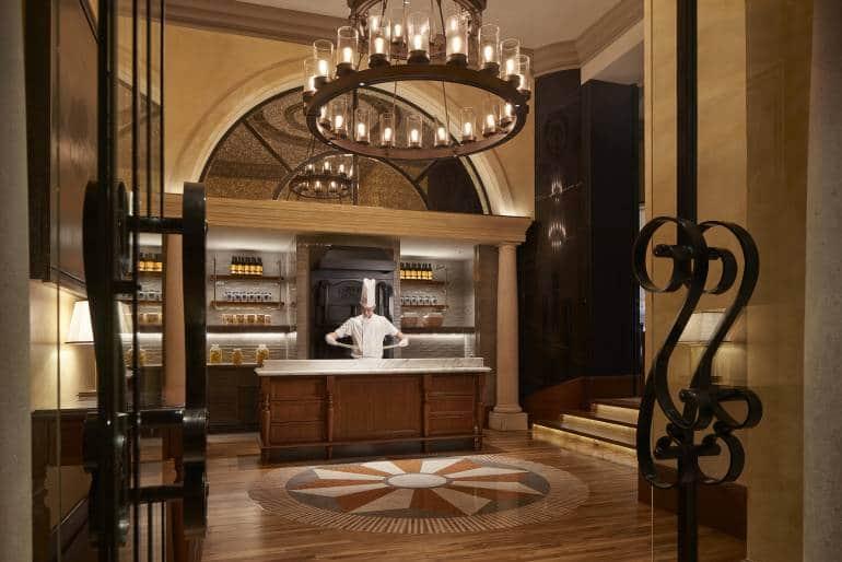 Grissini restaurant at the Grand Hyatt HK